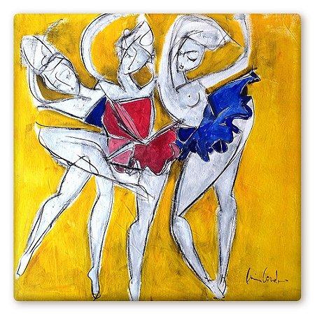 Bailarina em Amarelo