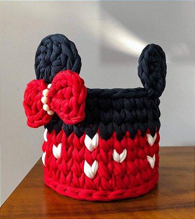 Cesto Organizador Minnie/ Micky