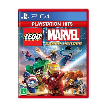 Jogo LEGO Marvel Super Heroes - PS4