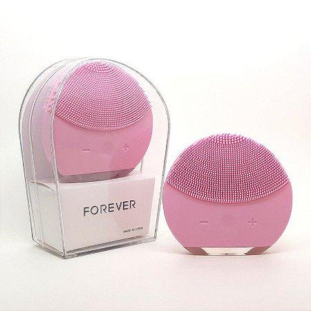 Maquina de Limpeza Facial Limpa Pele e Rosto Luna Forever Escova Facial Mini Limpador Facial