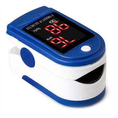 Oximetro Digital De Dedo Medidor Saturação Oxigênio Batimentos Cardiacos Tela Oled Colorida