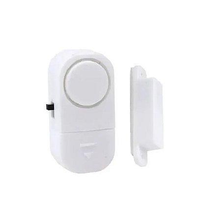 Alarme Contra Invasão Residencial Sonoro Porta Janela S/ Fio