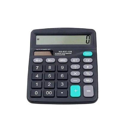 Calculadora KK-837B Barata De Mesa Comercial Escritório 12 Dígitos Display