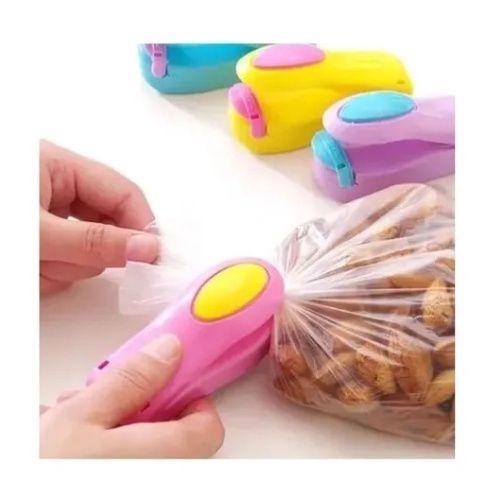 Mini Selador Sacos Plásticos Portátil Embalagens Pacotes Portátil Pilha