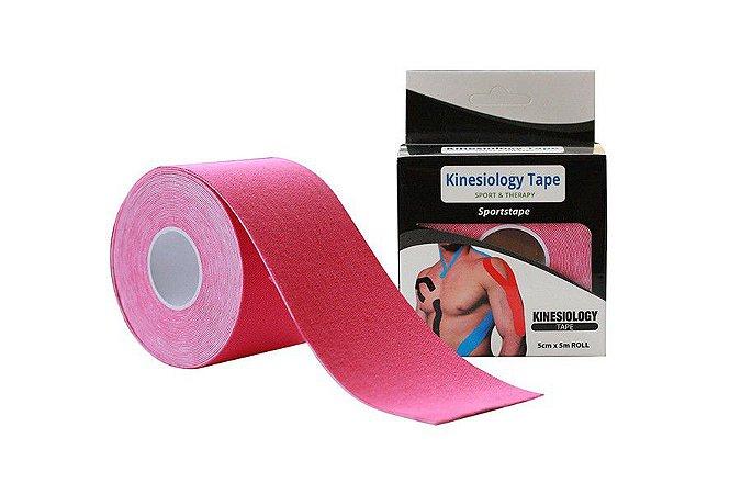 Kinesio Tape Fita Bandagem ( cor: Rosa )