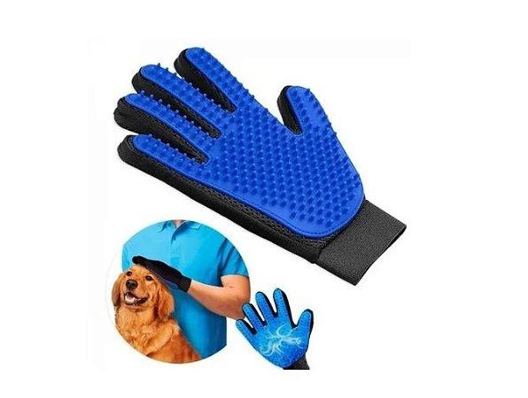 Luva Magnética Tira Pelos Pets/cães Gatos True Touch