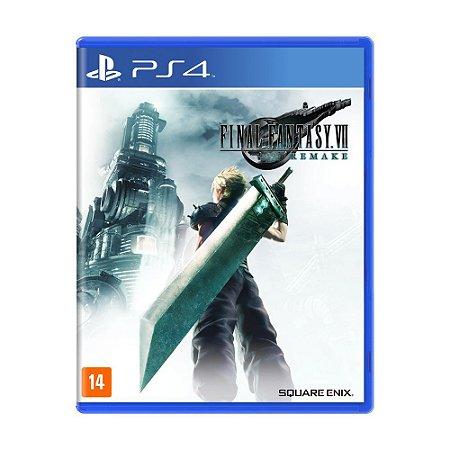 Jogo Final Fantasy VII Remake - PS4