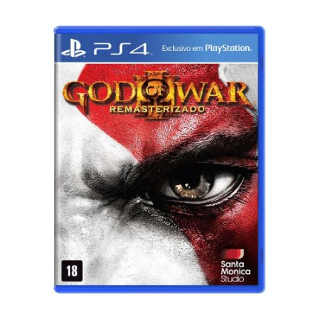 Jogo God of War 3: Remastered - PS4