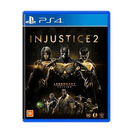 Jogo Injustice 2: Legendary Edition - PS4