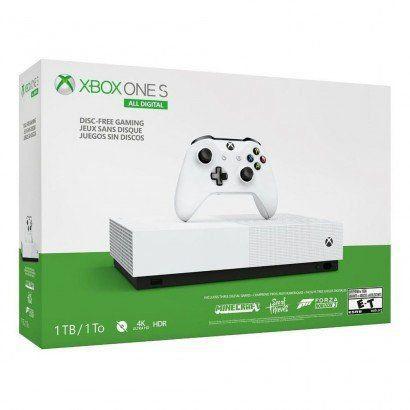 Console Xbox One S 1TB All Digital Edition Branco