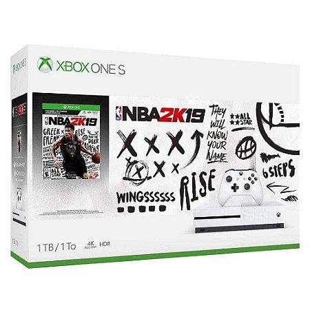 Console Xbox One S 1tb Bundle Nba 2k19 - Bivolt