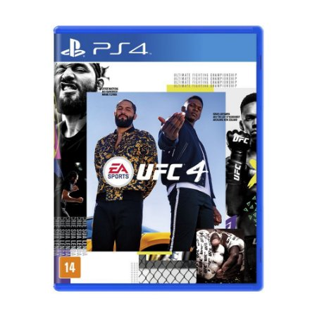 Jogo EA Sports UFC 4 - PS4