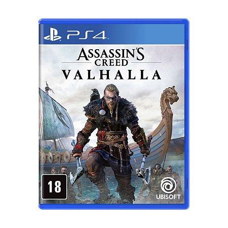 Jogo Assassin's Creed Valhalla - PS4