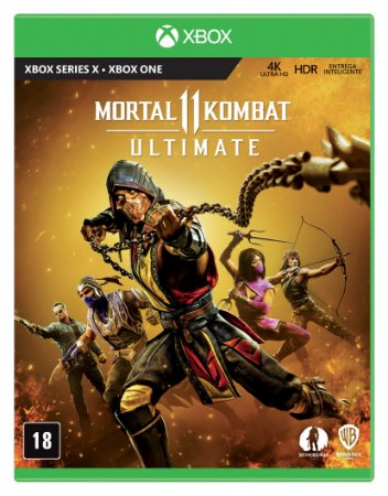 Jogo Mortal Kombat 11 Ultimate-Xbox Série X