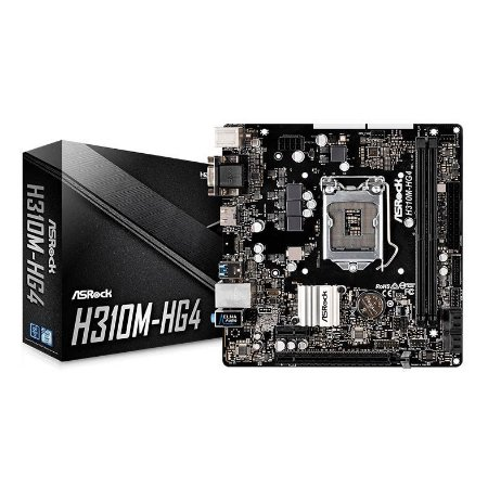 PLACA MAE ASROCK H310M-HG4 DDR4 SOCKET LGA1151 CHIPSET INTEL B310