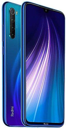 Smartphone Xiaomi Redmi Note 8 4RAM 64GB Tela 6.3 LTE Dual Azul