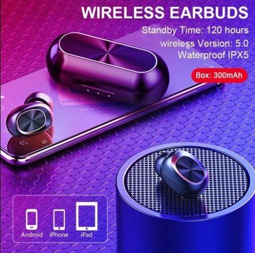 Fone de Ouvido Bluetooth Bakeey B5 Sem Fio