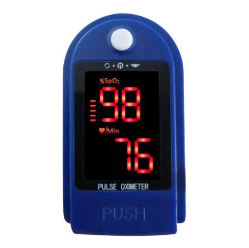 Monitor de oxigênio no sangue Rápida leitura rápida Dedo Oxímetro de pulso Mini Monitor de SpO2 Monitor de saturação de oxigênio Dispositivo de medição