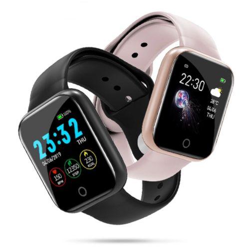 I5 Pulseira Inteligente Wen Mulheres SmartWatch Rastreador de Fitness Freqüência Cardíaca Pulseira Inteligente Relógio Esportivo Bateria 170 mAh Embutida
