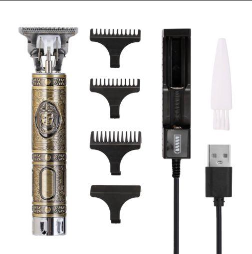 Máquina de cortar cabelo e aparador de pelo profissional Anself - carregamento usb
