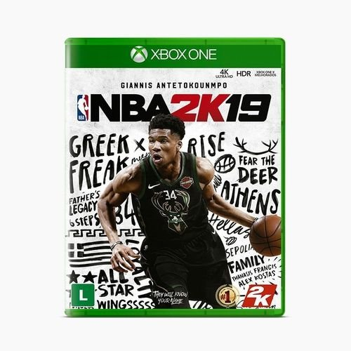 Jogo Nba 2k19 - Xbox One