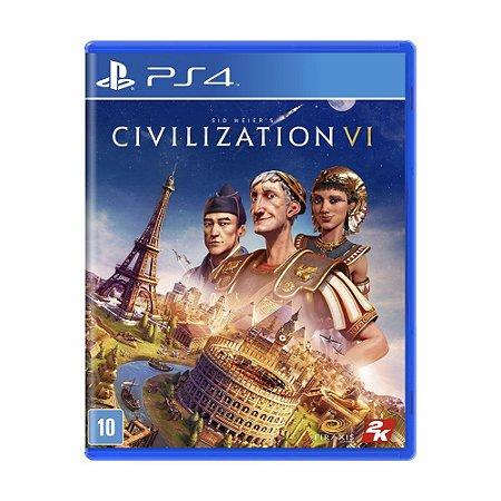 Jogo Sid Meier's Civilization VI - PS4