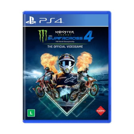 Jogo Monster Energy Supercross - The Official Videogame 4 - PS4