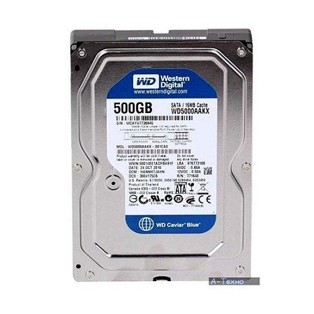 HD Wester Digital PC 500GB, Azul - WD5000AAKX