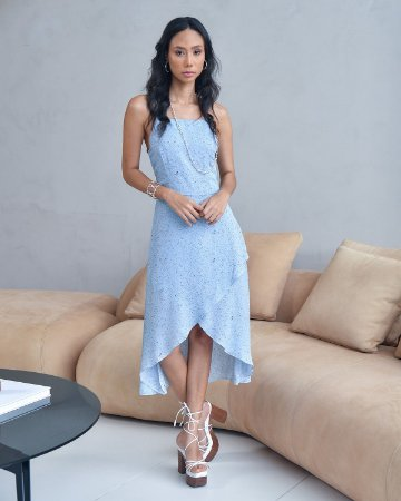 Vestido REGINA Alcinha Midi