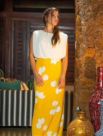 Vestido Longo Glamour Floral