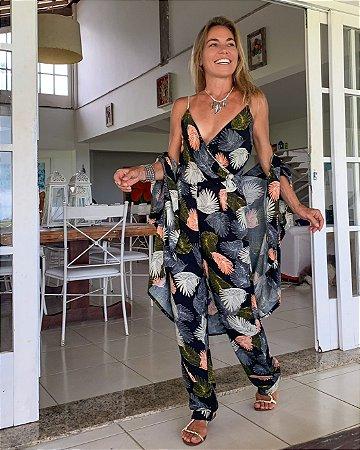 Kimono FÁTIMA Folhagem