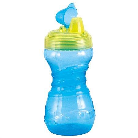 Copo Fun Azul c/ verde 330ml - Kuka