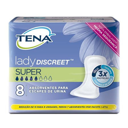 Tena Lady Discreet SUPER - 8 Unidades