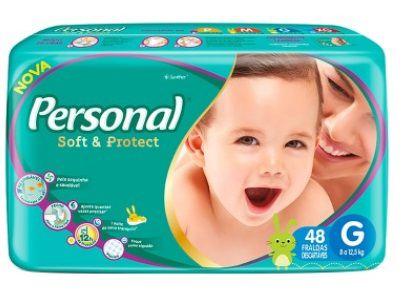 Fralda Personal Soft & Protect - Tamanho G - 48 Unidades