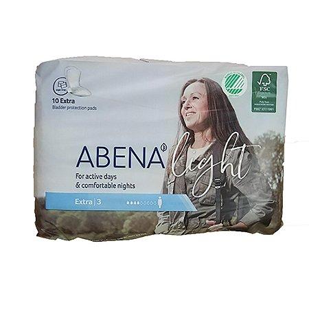 Absorvente feminino ABENA Abri-Light EXTRA - 10 unidades