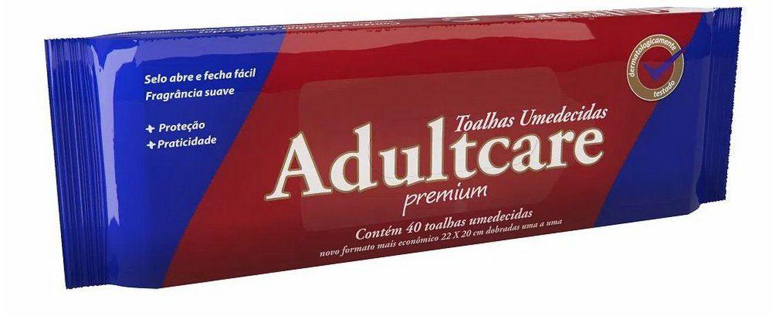 Toalhas Umedecidas Adultcare Premium