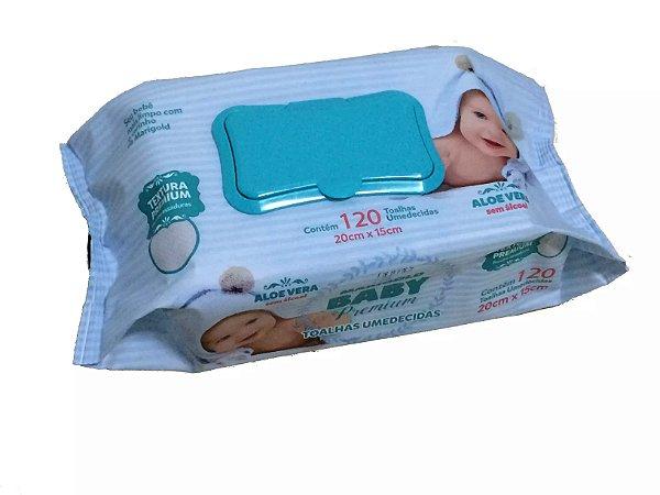 Toalha Umedecida Marigold Baby Premium 120 unid