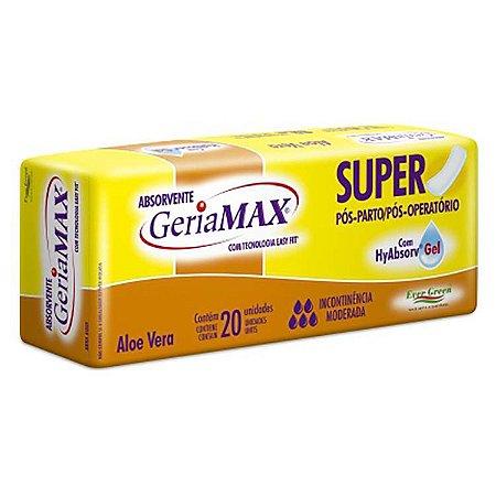 Absorvente Geriátrico Geriamax Super 20 unid