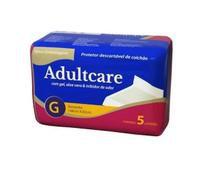 Protetor Descartável De Colchão Adultcare Tam G c/5 unidades