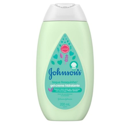 Gel-creme Hidratante TOQUE FRESQUINHO JOHNSON'S