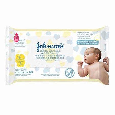Toalhinhas Recém-nascido JOHNSON'S