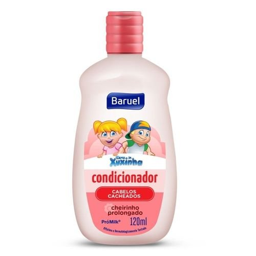 Condicionador Infantil Xuxinha Cacheados 120ml - Baruel