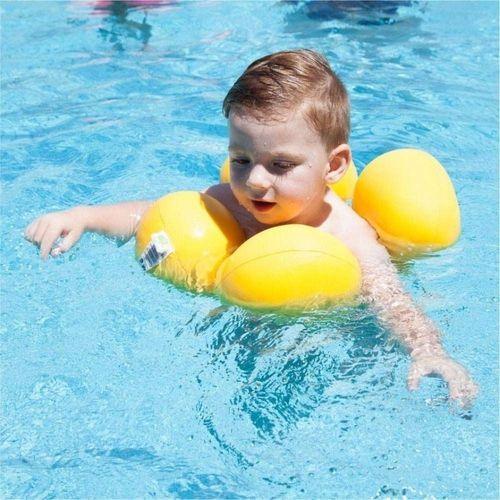 Almofada Para Piscina Infantil Octopus Baby Pil - Amarela