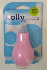 Aspirador Nasal Rosa Tamanho 1 Lolly