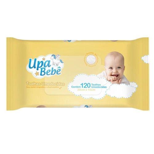 Toalhas Umedecidas Upa Bebê c/120 Toalhinhas