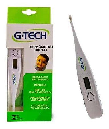 Termômetro Clínico Digital G-tech Branco 1 Unidade