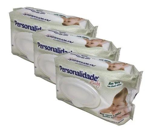 Lenços Umedecidos Personalidade Baby Kit 300 Toalhinhas