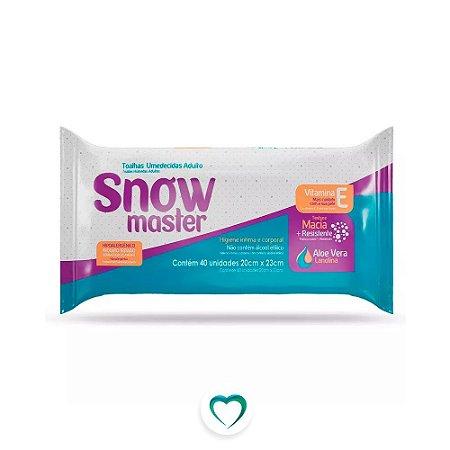 Toalha Umedecida Snow Master C/40
