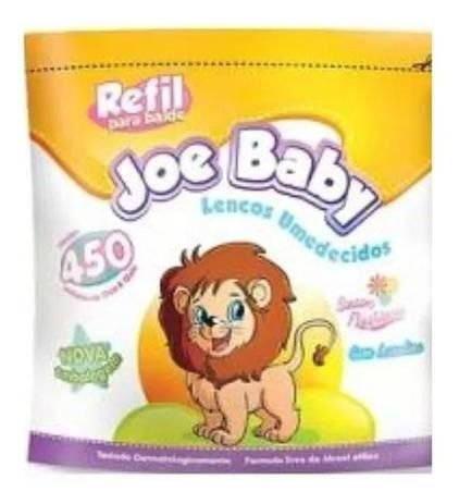 Refil do Balde Lenço Joe Baby 450 lenços