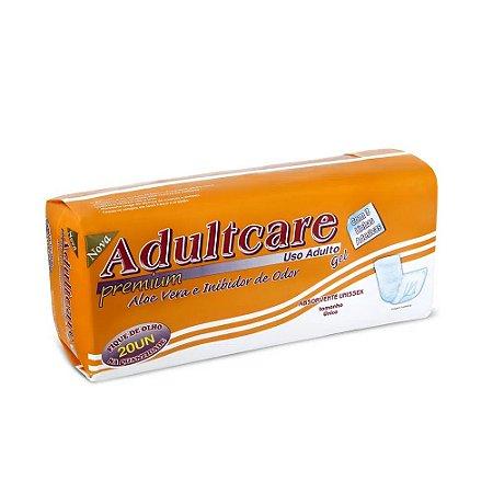 Absorvente Geriátrico Adultcare Premium Unissex 20 Unidades